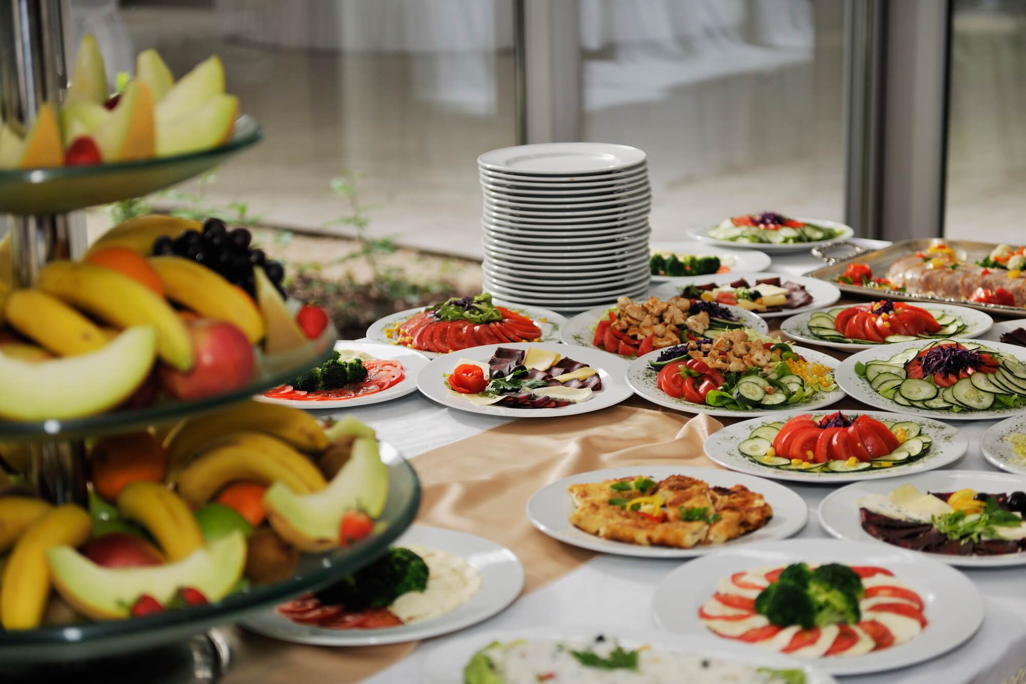 hiring a catering company